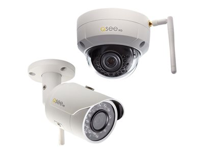 Q-See QCW3MP1D Network surveillance camera dome outdoor weatherproof color (Day&Night)