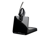 Plantronics Voyager Legend CS - Headset - in-ear - over-the-ear mount - wireless - Bluetooth - black - with Plantronics HL10 Handset Lifter