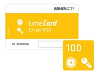 ReinerSCT timeCard ID Card RFID - RF Proximity Card (Packung mit 100)