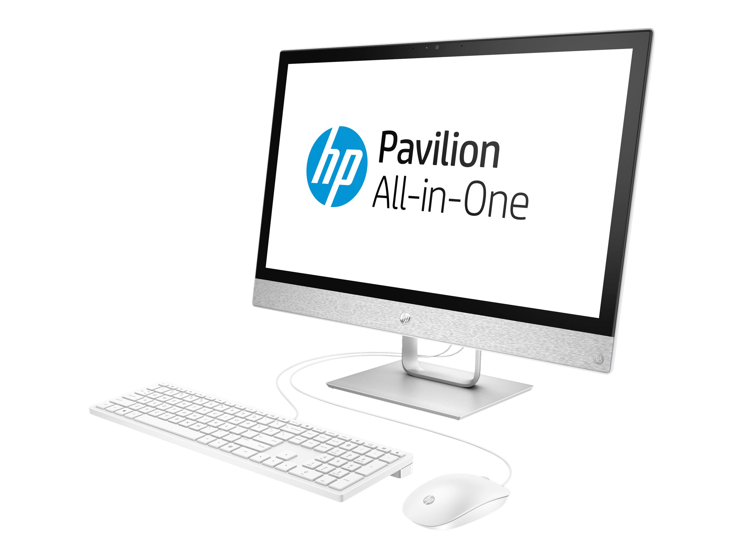 HP Inc. HP Pavilion 24-r052ng - All-in-One (Komplettlösung) - 1 x Core i3 7100T / 3.4 GHz - RAM 8 GB - HDD 1 TB - DVD-Writer