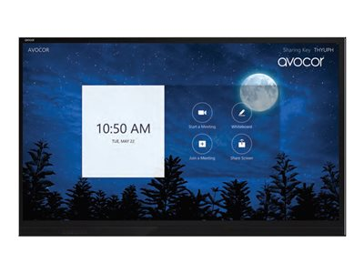 Avocor AVE-7520 75INCH Class E-Series LED display interactive digital signage with touchscreen