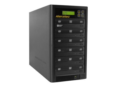 Aleratec DVD/CD Copy Tower 1:5 Disk duplicator DVD±RW (±R DL) / DVD-RAM x 5, DVD-ROM x 1