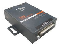 Lantronix Device Server UDS1100 One Port Serial (RS232/ RS422/ RS485) to IP Ethernet, UL864 - Geräteserver - 100Mb LAN, RS-232,