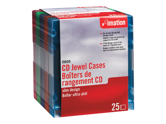 Image of Imation storage CD jewel case