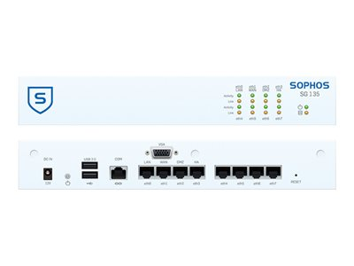 Sophos SG 135 - security appliance - with 3 years TotalProtect