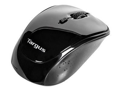 Targus BlueTrace Mouse optical wireless 2.4 GHz USB wireless receiver black