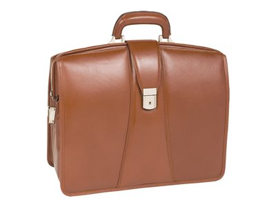 McKlein V Series Harrison Notebook carrying case 17INCH brown