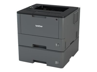 Brother HL-L5100DNT - Printer - monochrome - Duplex - laser - A4/Legal - 1200 x 1200 dpi - up to 40 ppm - capacity: 820 sheets - USB 2.0, LAN