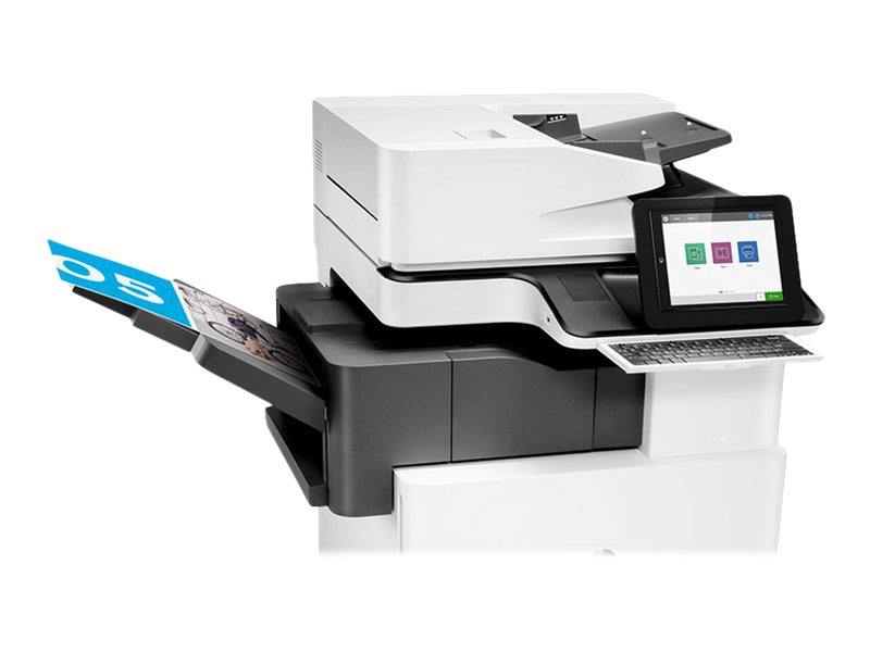 Copieur Color LaserJet Managed MFP HP E87640dn - vitesse 40ppm vue fermée