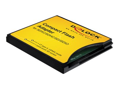 DeLOCK Compact Flash Adapter Kortadapter CompactFlash