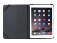 Maroo Executive Folio Flip cover for tablet genuine leather black 9.7INCH