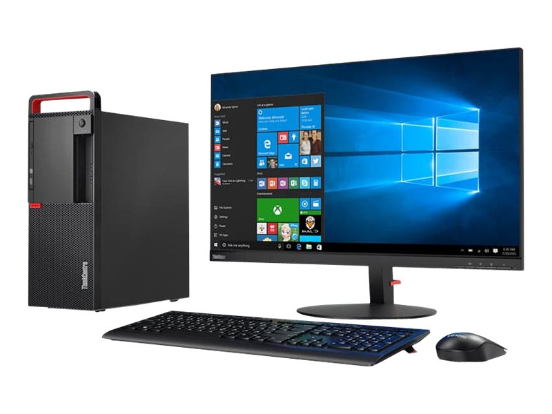 Lenovo ThinkCentre M910t - tower - Core i5 7500 3.4 GHz - 8 GB - SSD 256 GB - US