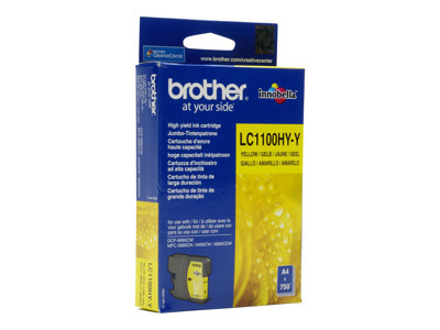Brother Brother LC1100 - jaune - originale - cartouche d'encre