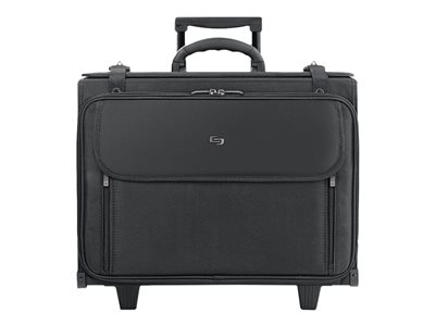 SOLO Classic Rolling Laptop Catalog Case B151-4 Notebook carrying case 17INCH black