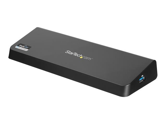 Image of StarTech.com USB 3.0 Docking Station Dual Monitor with HDMI & 4K DisplayPort, 4x USB-A, Gigabit Ethernet, USB Type A Universal Laptop Dock with USB 3.1 Gen 1 Hub (5 Gbps) and Charging - Mac, Windows, Chrome (USB3DOCKHDPC) - docking station - USB - HDMI, D