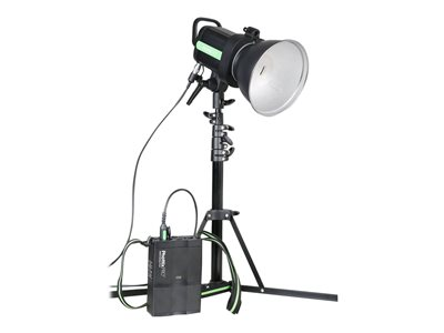 Indra500 TTL Studio Light with Battery Pack Kit