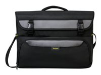 Targus CityGear II Hybrid Messenger Notebook carrying case 17INCH gray, black