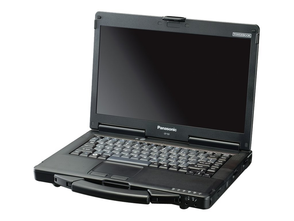 Panasonic Toughbook CF-53 - Core i5 4310U / 2 GHz - Win 7 Pro (mit Win 10 Pro Lizenz) - 4 GB RAM - 500 GB HDD - DVD SuperMulti