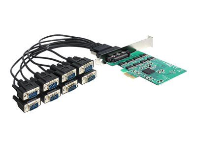 PCI Express Card > 8 x Serial RS-232