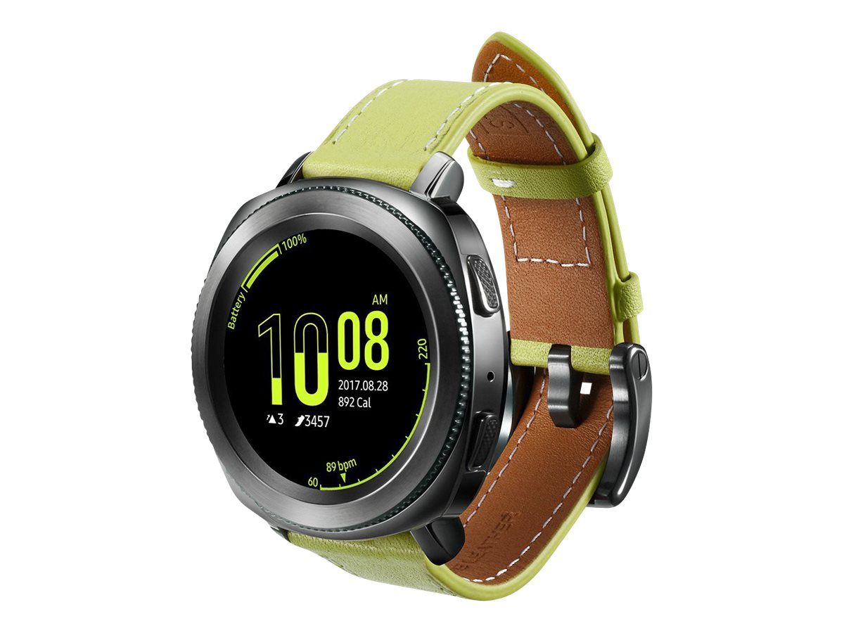 Strap Studio Classic Leather Armband - strap for smart watch