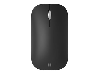 Modern Mobile Mouse - souris - Bluetooth 4.2 + LE - noir