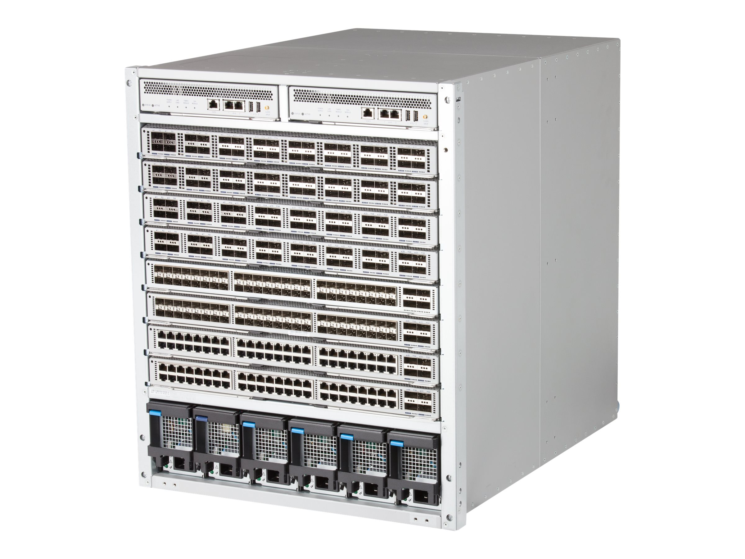 Arista 7308X - switch - managed - rack-mountable - with Supervisor Module (DCS-7300-SUP), 4 x Fabric-X (integrated fans…