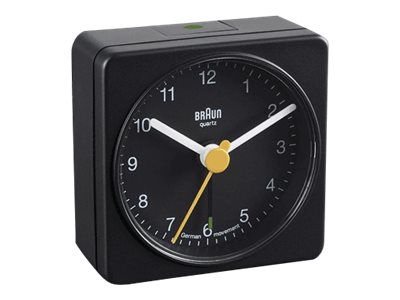 Braun BNC 002 Travel Alarm Clock black