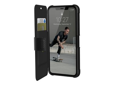 Rugged Case for iPhone XS Max [6.5-inch screen] - Metropolis Black