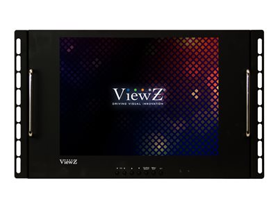ViewZ RCR VZ-15RCR LCD display rack 15INCH 520 TVL black