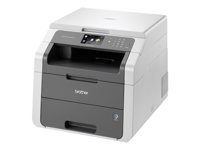 Brother DCP-9015CDW - Multifunction printer - colour - LED - 215.9 x 300 mm (original) - A4/Legal (media) - up to 18 ppm (copying) - up to 18 ppm (printing) - 250 sheets - USB 2.0, Wi-Fi(n)