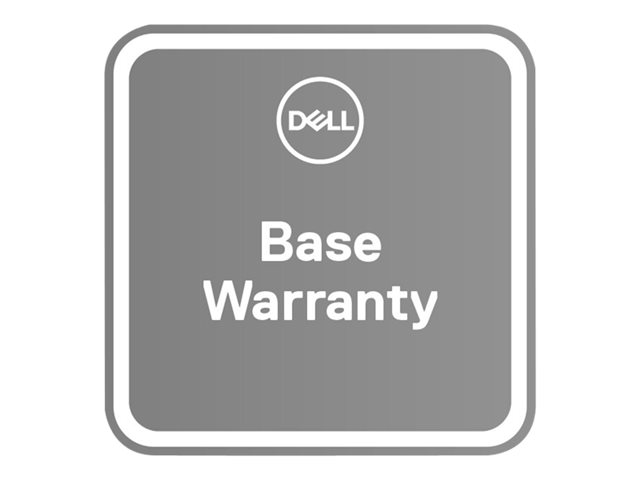 Dell Upgrade from 1Y Basic Onsite to 3Y Basic Onsite - extended service agreement - 2 years - 2nd/3rd year - on-site