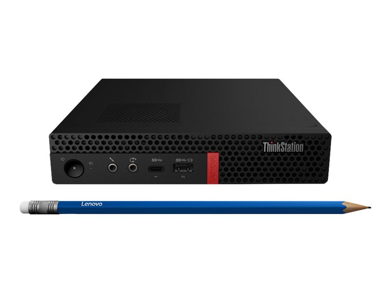 Lenovo ThinkStation P330 - minuscule - Core i7 8700T 2.4 GHz - 8 Go - 256 Go - French