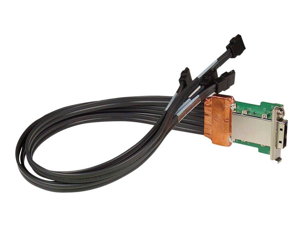 HP SAS Back Panel Connector Kit - SAS intern auf extern Kabelsatz - für Workstation xw6400, xw8400, xw9400, Z820; Workstation xw8600
