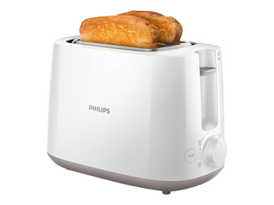 Philips Daily Collection HD2581 Brødrister 830W Hvid
