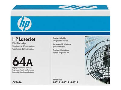 HP Toner CC364A Black (Approx 10,000 pages)