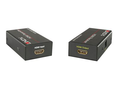 LINDY HDMI CAT5e/6 Extender - Video/audio extender - HDMI - up to 30 m