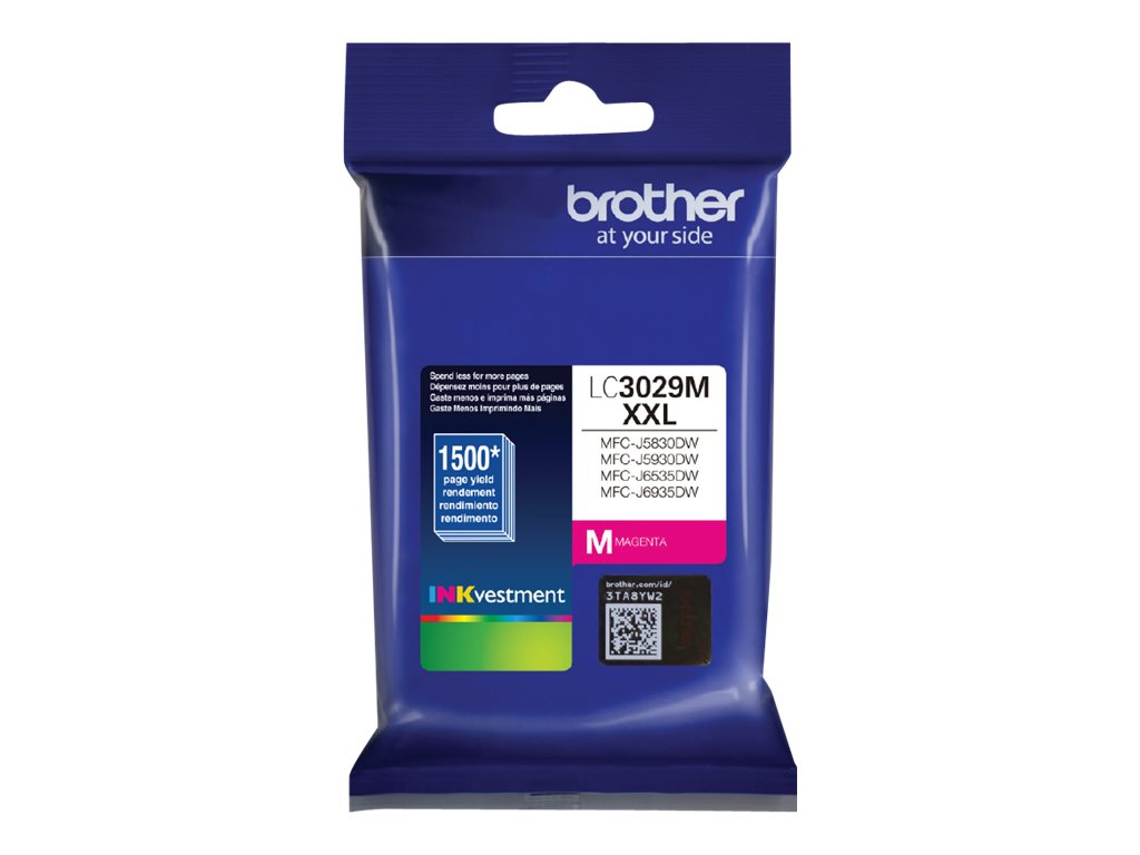 Brother LC-3029M XXL - Super High Yield - magenta - original - ink cartridge