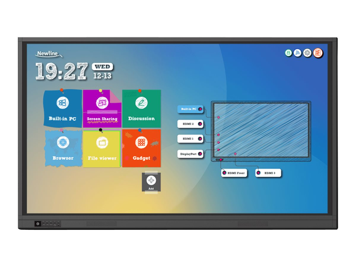 """Newline TruTouch TT-6518RS RS Series - 65"""" LED display - 4K"""