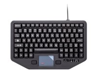 iKey Rugged In-Vehicle IK-TR-88-911-TP Keyboard with touchpad USB