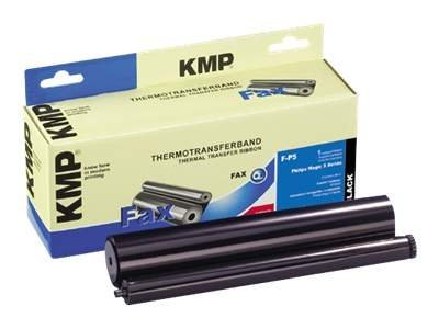 KMP F-P5 - 1 - Schwarz - 212 mm x 45 m - Farbband (Alternative zu: Philips PFA 351) - für Philips Magic 5