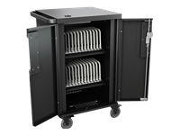 Bretford CoreX Charging Cart - Cart (charge only) for 24 tablets / notebooks - screen size: up to 17