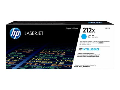 HP 212X - High Yield - cyan - original - LaserJet - ink cartridge