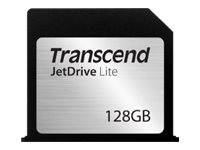 Transcend JetDrive Lite 130 - Carte mémoire flash - 128 Go - pour Apple MacBook Air (13.3 po)