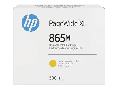 HP 865M - yellow - original - PageWide XL - ink cartridge