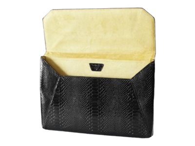 Francine Collections Lexington Avenue Protective sleeve for tablet faux snakeskin black