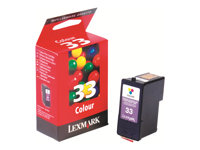 Lexmark Cartridge No. 33 - Couleur (cyan, magenta, jaune)