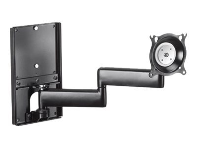 Chief Dual Arm Metal Stud Wall Mount KWDSK110B Wall mount black