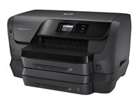 HP Officejet Pro 8216 - Printer - color - Duplex - ink-jet - A4/Legal - 1200 x 1200 dpi - up to 34 ppm (mono) / up to 34 ppm (color) - capacity: 500 sheets - USB 2.0, LAN, Wi-Fi(n)