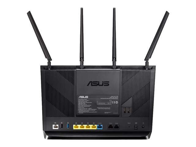 ASUS DSL-AC87VG - Wireless Router - DSL-Modem - 4-Port-Switch - GigE ...