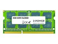 Picture of 2-Power - DDR3L - 8 GB - SO-DIMM 204-pin - unbuffered (2P-B4U40AA)